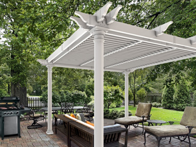 new england arbors pergola Preston