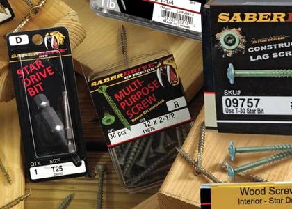 saberdriver hardware deck fasteners