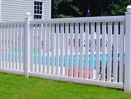 Vinyl fencing category