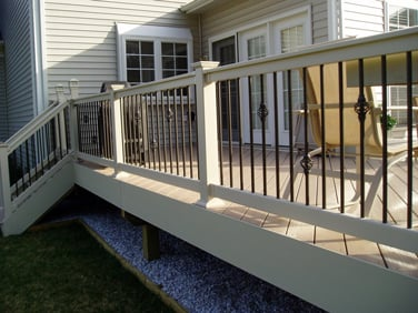 gallery of deck railings